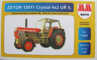 H0 MM 13421 Zetor 12011 Crystal 4x2 uř.II.