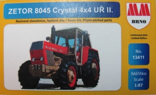 H0 MM 13411 Zetor 8045 Crystal 4x4 Uř. II