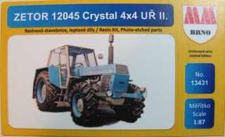 H0 MM 13431 Zetor 12045 Crystal 4x4 Uř. II